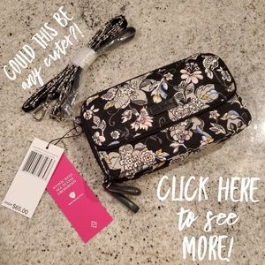 NWT Vera Bradley AIO Crossbody  in Holland Garden